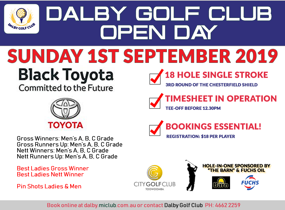 Dalby Open Day
